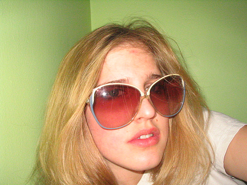 Over sized perscription sunglasses - huge sunglasses photo